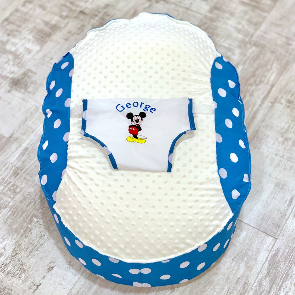 Personalised Mickey Mouse Baby Bean Bag