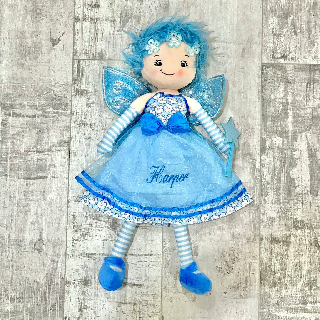 Personalised 'Jade' Fairy Rag Doll