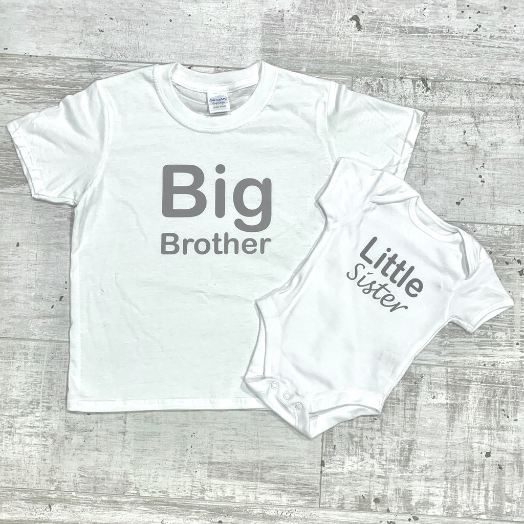 Big/Little Sister/Brother Matching Set