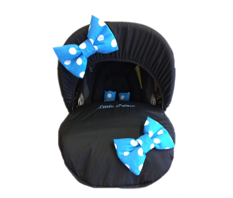 black-blue-polka-bow