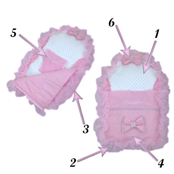 Build Your Own Baby Bean Bag Pod - Frilly
