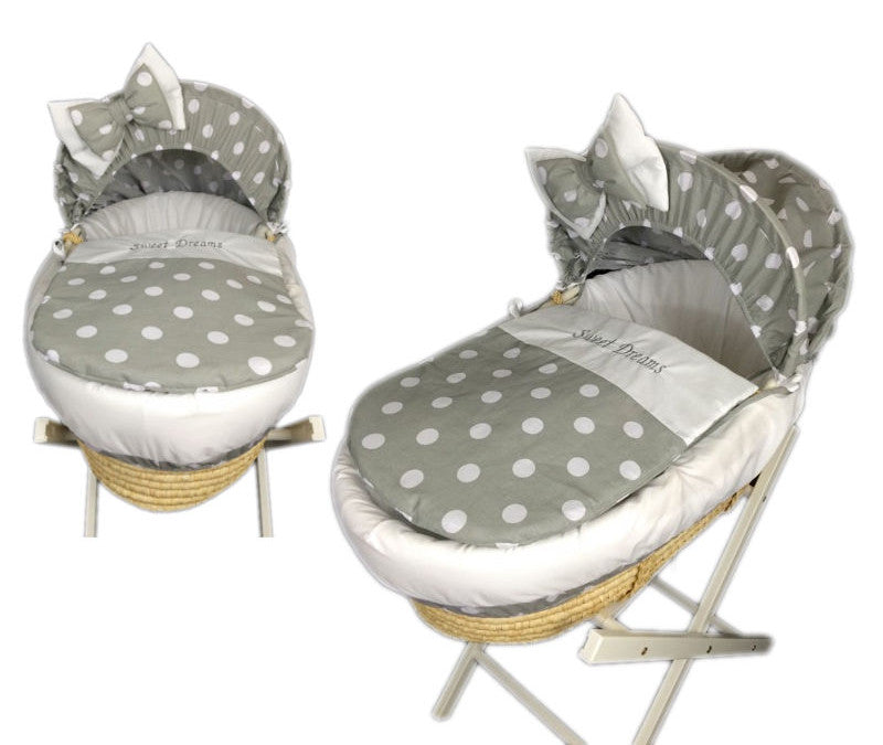 grey-polka-dot-moses-basket
