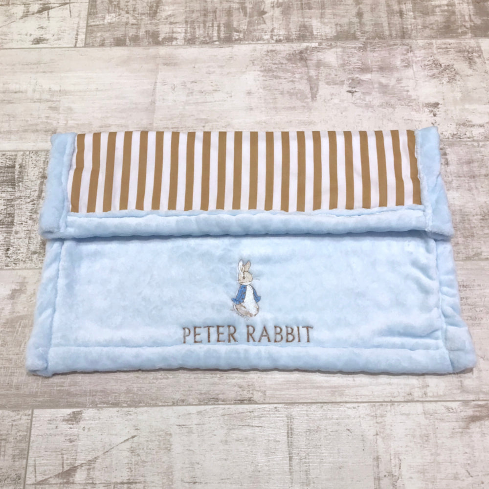 peter rabbit and gold stripe blanket 2