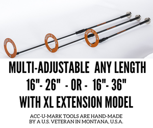 16″ to 26″ Adjustable