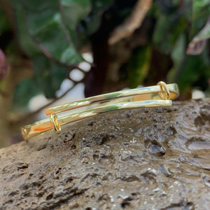5MM Keiki Hawaiian Scroll Bangle