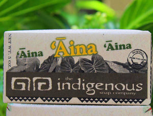 Aina soap closeup