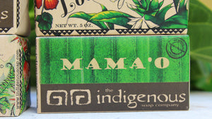 Mamao soap closeup