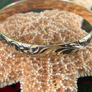 Custom Hawaiian Heirloom Bangles