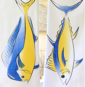 Hawaiian Style Towels Fish