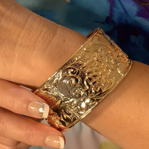 Under the Sea Bangle shown on model.