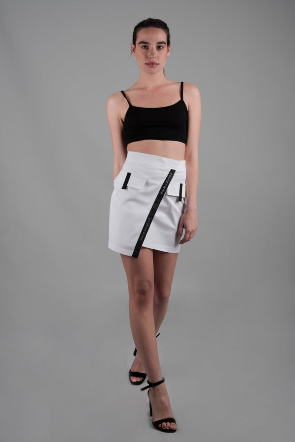 DIAGONAL TAPING FOLDER SKIRT