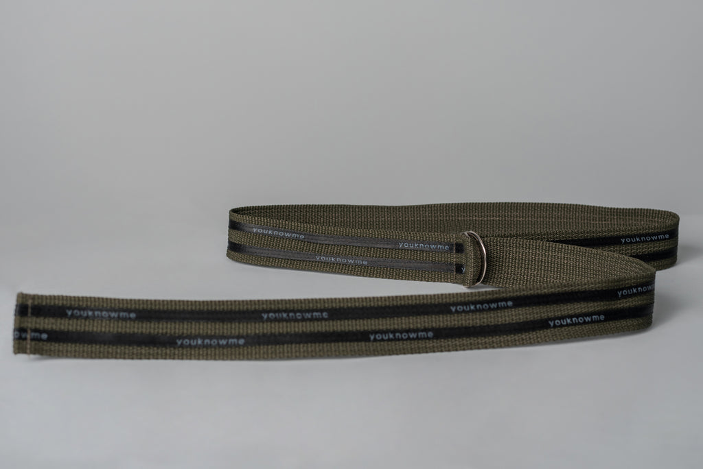 DOUBLE TAPED STRAP BELT