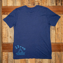 Load image into Gallery viewer, Heather Blue Tee Shirt