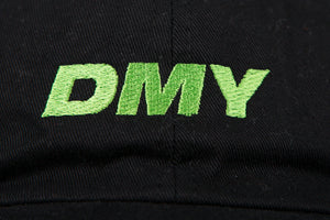 DMY Neon Green Embroidered Logo Cap