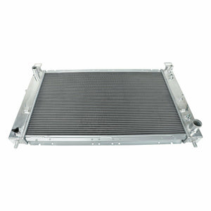 2 Row Aluminum Performance Radiator For 99-06 Silverado/Yukon/Sierra 4.8/5.3L AT