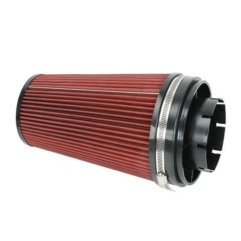 "4"" Cold Air Intake Filter Only For 99-06 GMC/Chevy V8 4.8L/5.3L/6.0L Red"