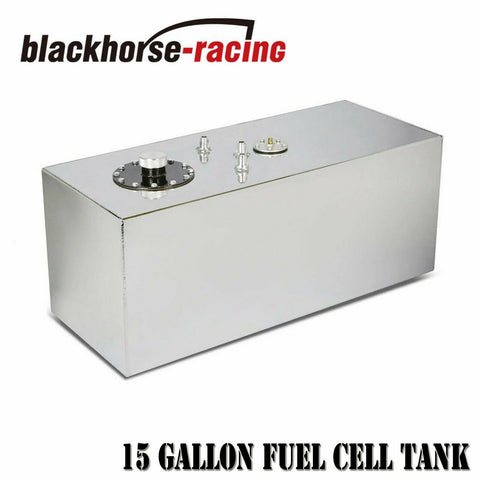 19 Gallon/72L Top Feed Aluminum Racing/Drift Fuel Cell Gas Tank+Cap+Level Sender