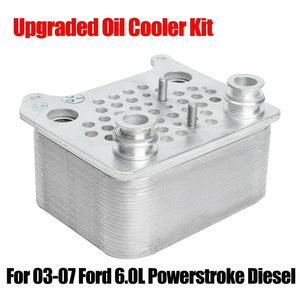 Upgraded Oil Cooler kit For 2003-2007 Ford F250 F350 6.0L Powerstroke Diesel