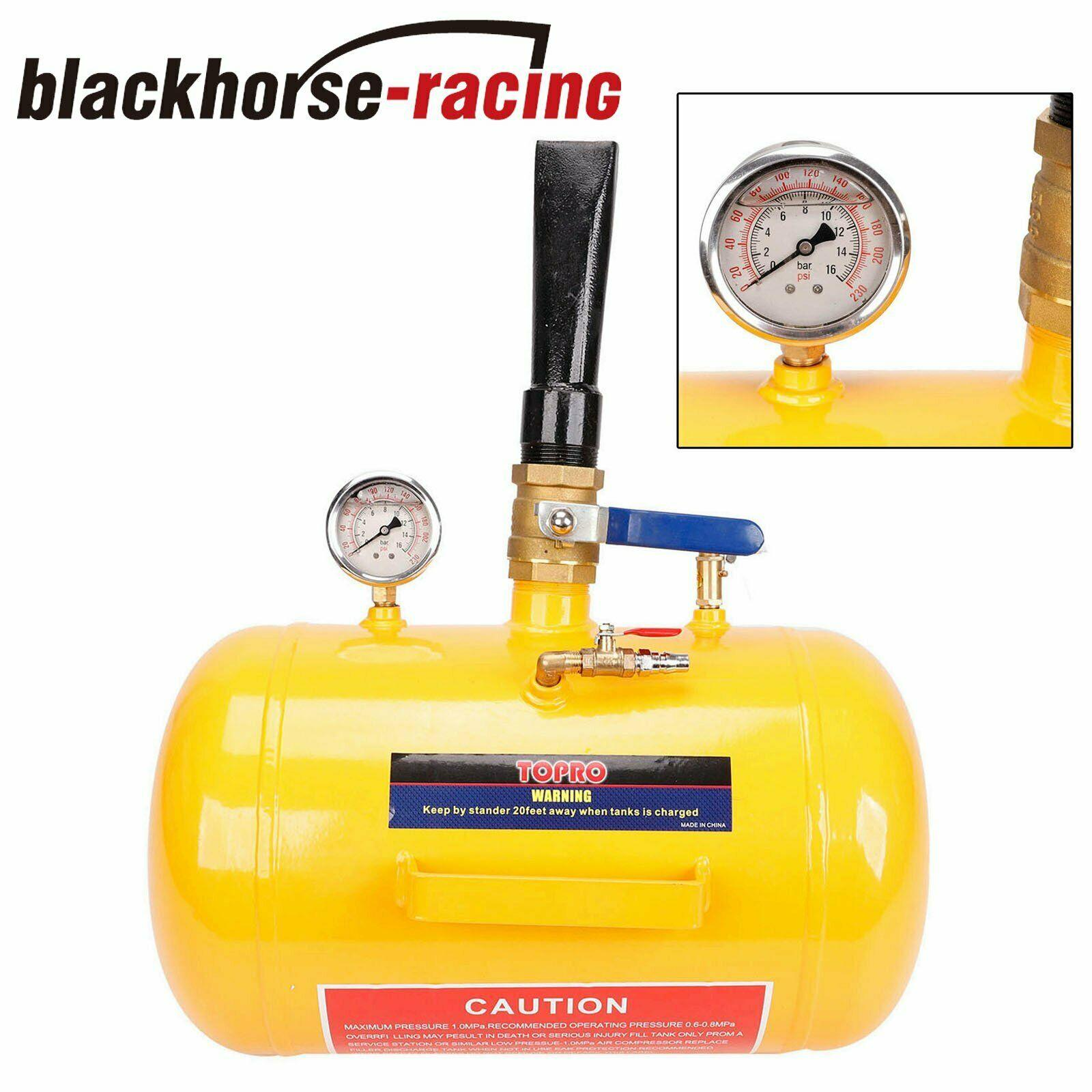 5 Gallon Air Tire Bead Seater Blaster Tool Seating Inflator For Truck ATV 145PSI