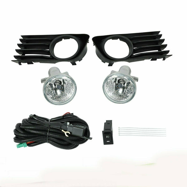 Fit 2004-2009 Toyota Prius Front Bumper Fog Lights Driving Lamps w/Switch+Wiring