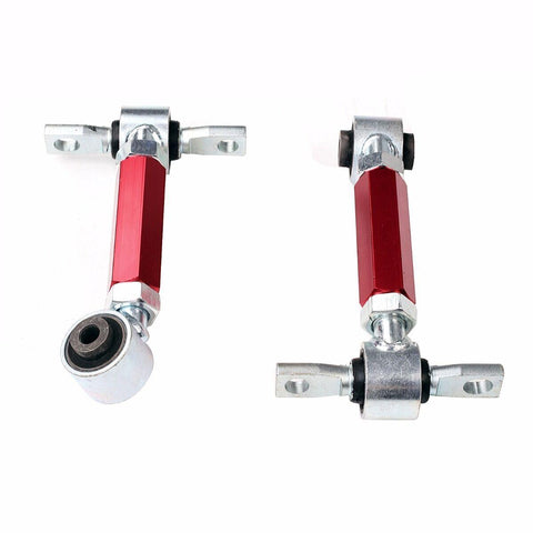 Red Fit 92-95 96-00 Honda Civic EG EK Racing Suspension Rear Upper Camber Kit