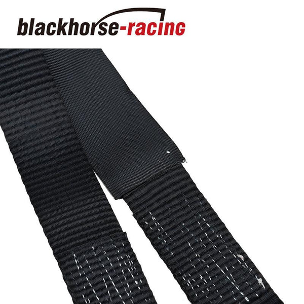 Wheel Tie Down Strap 36'' HD Axle Straps Race Car Hauler Tow Truck Wrecker BK