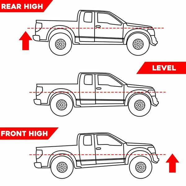 "2"" Front Leveling Lift Kit For 1999-18 Ford F250 F350/ 1982-97 Bronco Ranger 2WD"