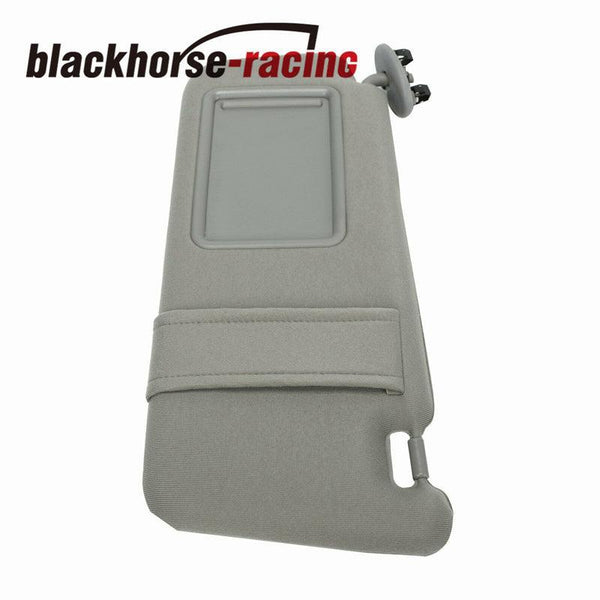 Sun Visor Driver Left GRAY Sunvisor Without Sunroof For 2007-2011 Toyota Camry