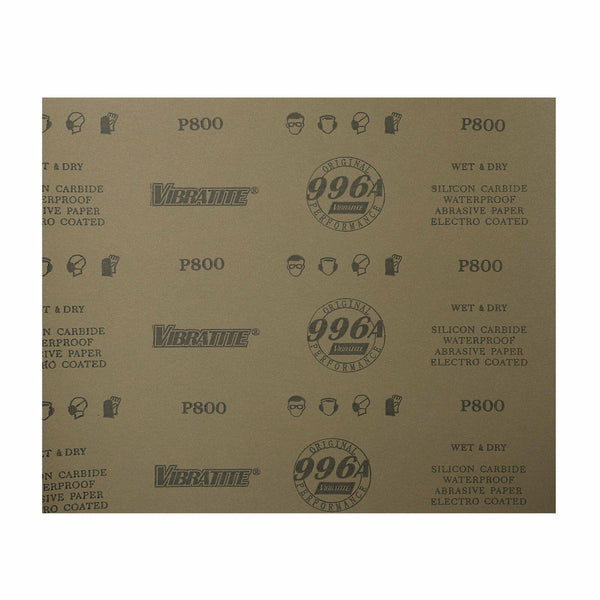 Grits800 100PC 9x11 SANDING SHEETS Wet/Dry Silicon Carbide Waterproof Sandpaper