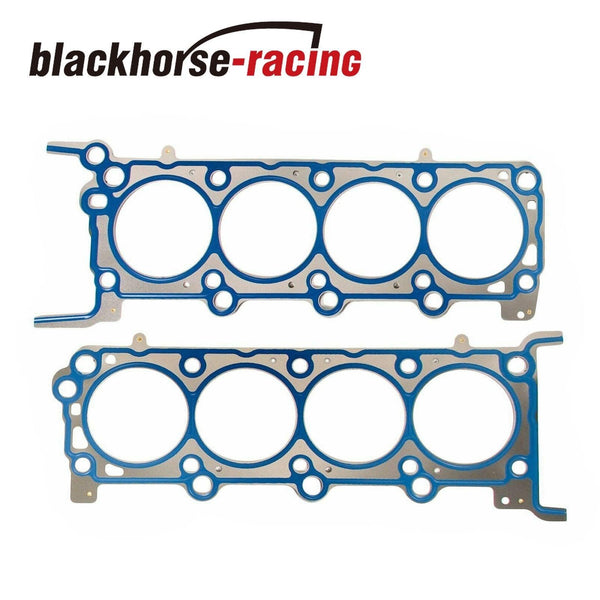 For Ford 5.4L V8 Head Gasket Set Timing Chain Kit Water&Oil Pump+Solenoid Valve