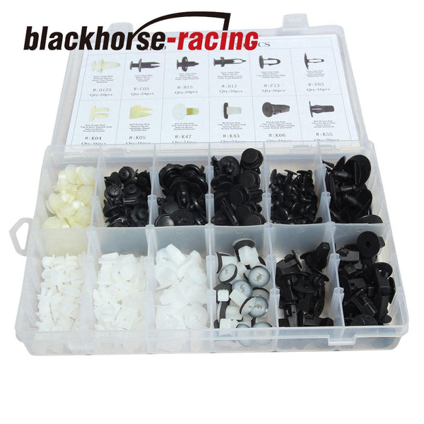 292X Fender Door Hood Bumper Trim Clips Body Retainer Assortment &1X Screwdriver