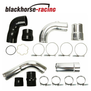 Powerstroke Diesel Hot + Cold Side Intercooler Pipe Boot Kit For 11-16 Ford 6.7L
