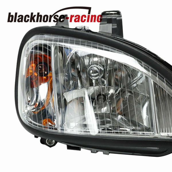 For 04-13 Freightliner Columbia Headlights Headlamps Left & Right Pair Set