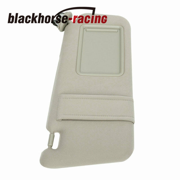 Beige Sun Visor Right Passenger Tan Without Sunroof For 07-11 Toyota Camry