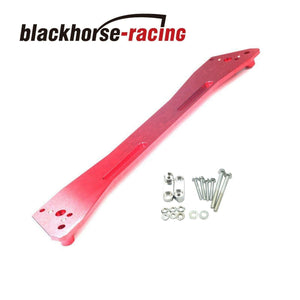 For 92-95 Honda Civic Acura Interga EG Rear Sub Frame Lower Brace Tie Bar Red