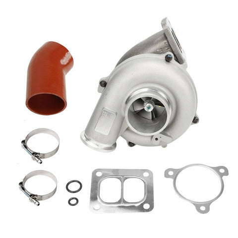 For 94~97 Ford Powerstroke 7.3L Upgrade TP38 Turbo 3.5'' Compressor Housing+Hose