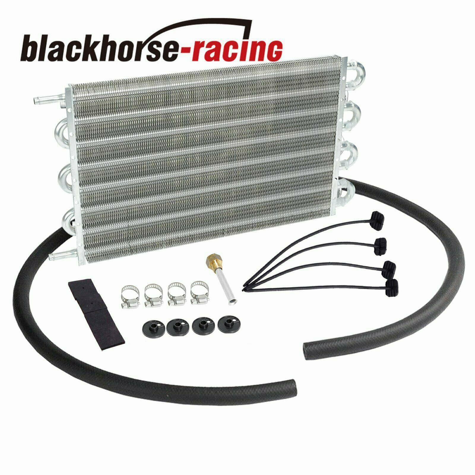 Aluminum 15-1/2'' Transmission Oil Cooler & Radiator Mounting KIt Universal
