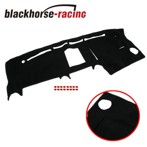 Fits For 2004-2008 Ford F150 Truck Dashmat Dash Cover Mat Dashboard Cover Black