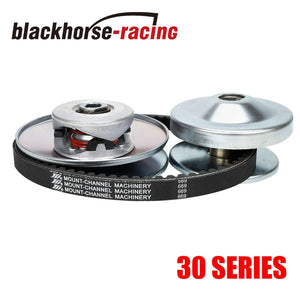 6'' OD Go Kart Torque Converter 3/4'' + 5/8'' Driven Clutch +725 Belt 30 Series