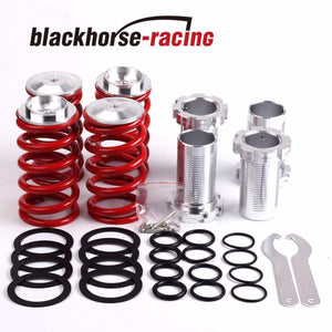 1-4''LOWERING SCALED SUSPENSION COILOVER RED SPRING FITS 88-00 CIVIC EG EJ EK/DC