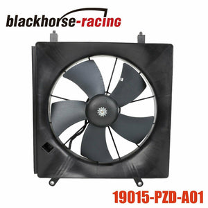 19015-PZD-A01 Radiator Cooling Fan Motor & Shroud Fit 2002-08 Honda Element CR-V
