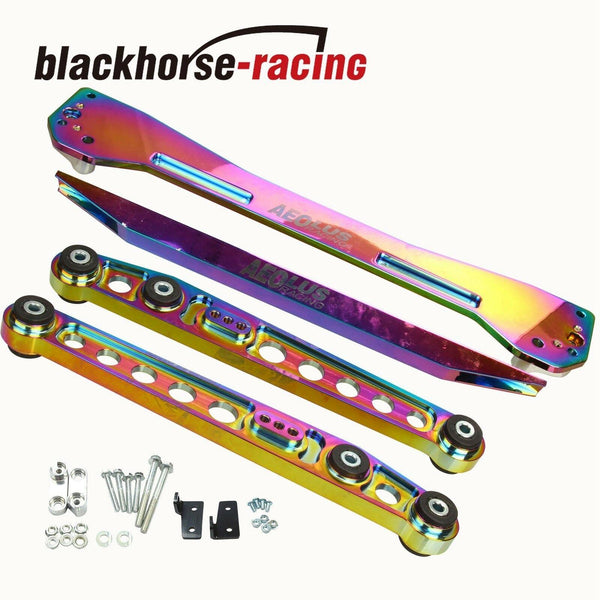 Rear Lower ControlArm Subframe Brace Tie Bar For Honda Civic EK 1996 to 2000 NEO