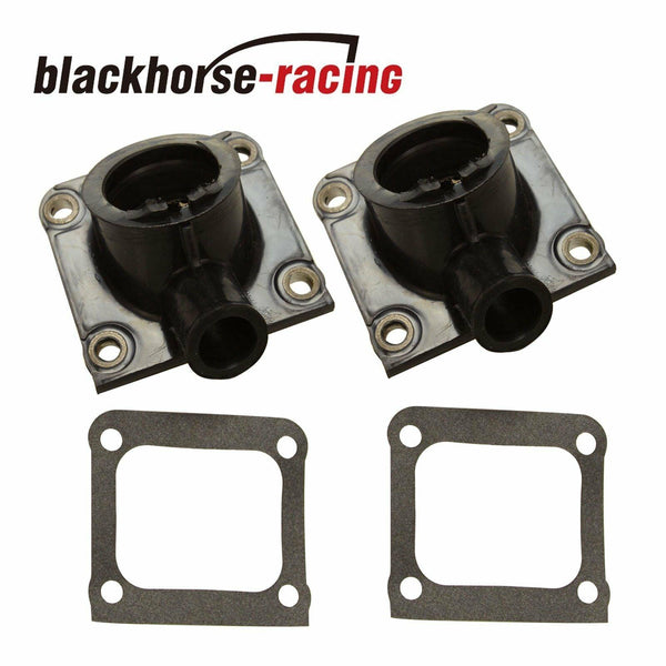 SET OF 2 CARBURETOR INTAKE BOOTS w/CLAMP FIT YAMAHA BANSHEE 350 YFZ350 1987-2006