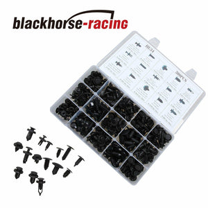 300Pcs Plastic Car Body Rivets Push Pin Moulding Clip Fastener Trim Assortments