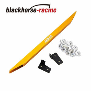 Rear Lower Tie Bar Subframe Brace For 88-95 Honda CIVIC 94-01 Integra Yellow