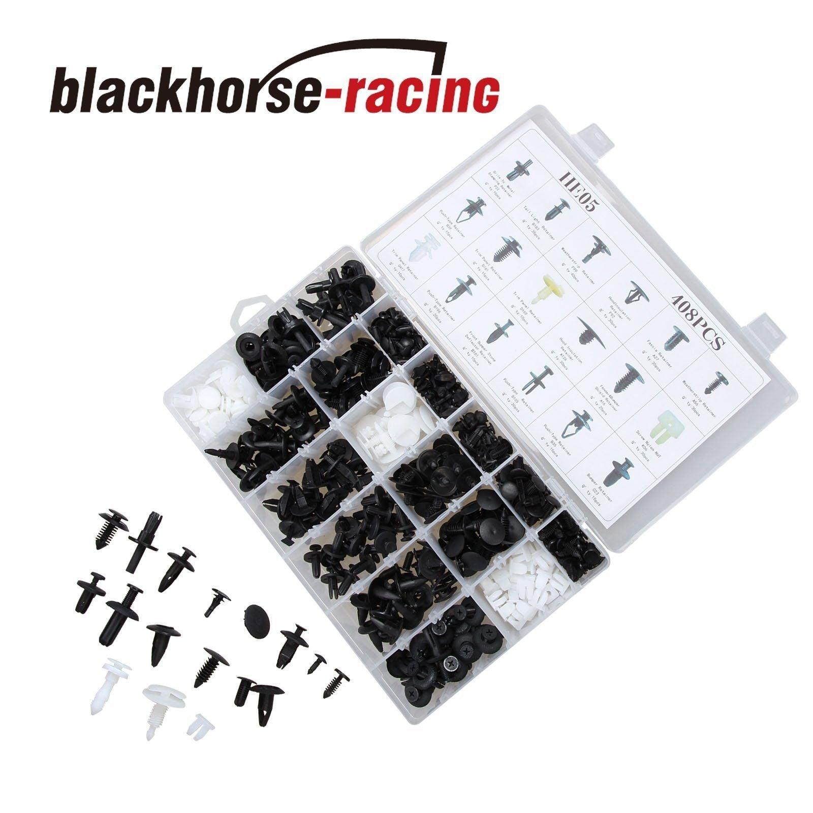 480Pcs Rivets Moulding Bumper Car Door Trim Push Type Retainer Clips For Nissan
