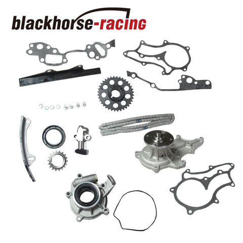 Timing Chain Kit Oil &Water Pump FOR Toyota 2.4L 22R Pickup 4Runner Celica 85-95