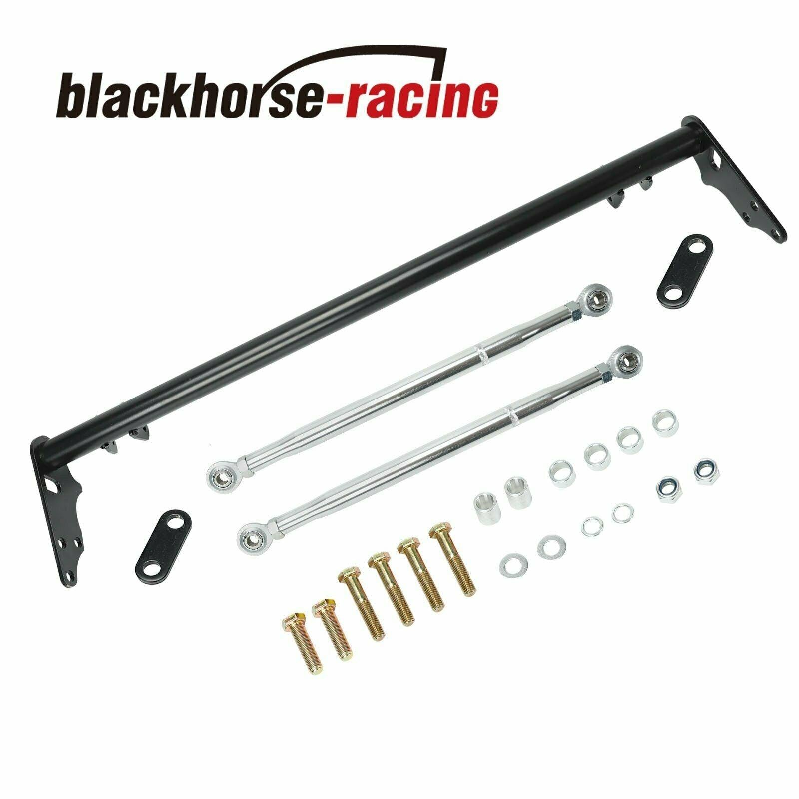 For Honda Civic CRX 1988-1991 Front Traction Control Arm Lower Tie Bar Brace Kit