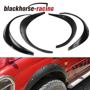 4PCS 820/890MM Universal Fender Flares Flexible Durable Polyurethane Car Body