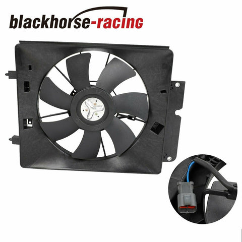 For 02-06 CR-V CRV A/C AC Air Conditioning Condenser Cooling Fan Motor & Shroud